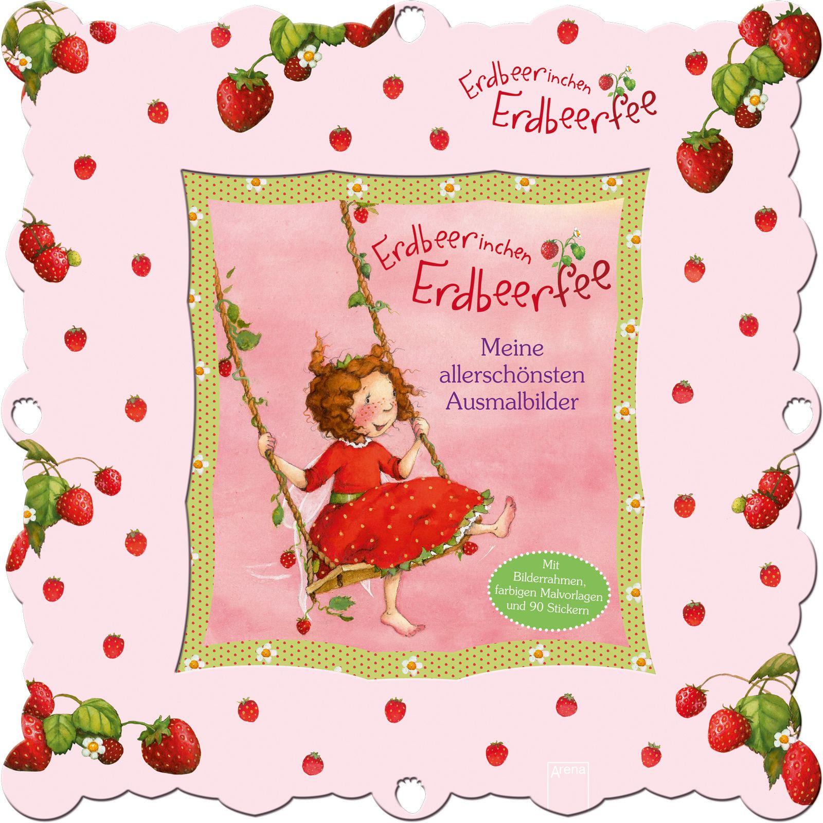 Erdbeerinchen Erdbeerfee. Meine allerschönsten Ausmalbilder von Beure