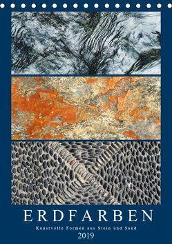 Erdfarben – Kunstvolle Formen aus Stein und Sand (Tischkalender 2019 DIN A5 hoch) von Frost,  Anja