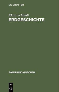 Erdgeschichte von Schmidt,  Klaus