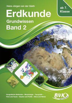 Erdkunde Grundwissen Band 2 von van der Gieth,  Hans-Jürgen