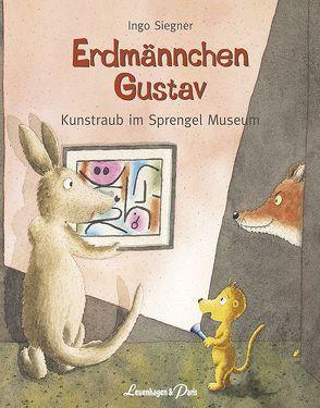 Erdmännchen Gustav Kunstraub im Sprengel Museum von Siegner,  Ingo