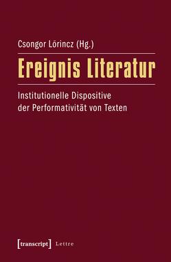 Ereignis Literatur von Lörincz,  Csongor