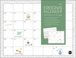 Ereigniskalender Monatsplaner Kalender 2022 von Heye