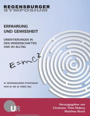 Erfahrung und Gewissheit von Brack,  Matthias, Thim-Mabrey,  Christiane