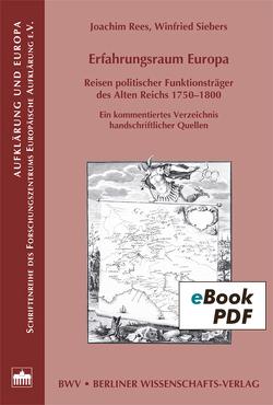 Erfahrungsraum Europa von Rees,  Joachim