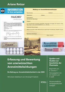 Erfassung und Bewertung von unerwünschten Arzneimittelwirkungen von Retzar,  Ariane