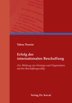 Erfolg der internationalen Beschaffung von Tressin,  Tabea