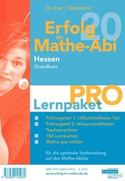 Erfolg im Mathe-Abi 2020 Hessen Lernpaket 'Pro' Grundkurs von Gruber,  Helmut, Neumann,  Robert