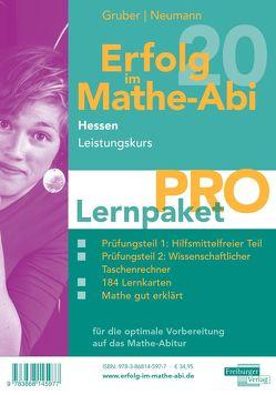 Erfolg im Mathe-Abi 2020 Hessen Lernpaket 'Pro' Leistungskurs von Gruber,  Helmut, Neumann,  Robert