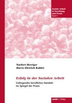 Erfolg in der Sozialen Arbeit von Herriger,  Norbert, Kähler,  Harro D