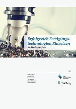 Erfolgreich Fertigungstechnologien Einsetzen von Dr. Arntz,  Kristian, Dr. Boos,  Wolfgang, Dröscher,  Tim, Johannsen,  Lars, Prümmer,  Marcel, Wollbrink,  Moritz