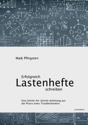 Erfolgreich Lastenhefte schreiben von Pfingsten,  Maik