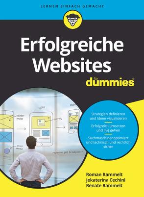 Erfolgreiche Websites für Dummies von Cechini,  Jekaterina, Rammelt,  Renate, Rammelt,  Roman