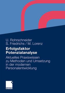Erfolgsfaktor Potenzialanalyse von Friedrichs,  Sarah, Lorenz,  Michael, Rohrschneider,  Uta