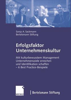 Erfolgsfaktor Unternehmenskultur von Bertelsmann Stiftung, Sackmann,  Sonja