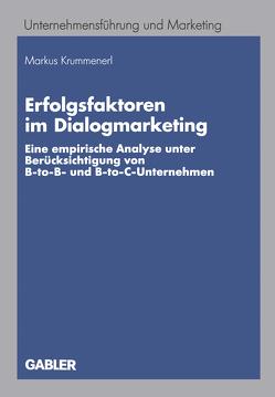 Erfolgsfaktoren im Dialogmarketing von Krummenerl,  Markus