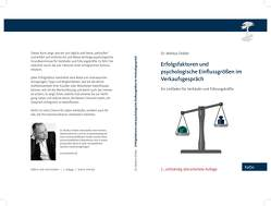 Erfolgsfaktoren und psychologische Einflussgrößen im Verkaufsgespräch von Dobler,  Markus