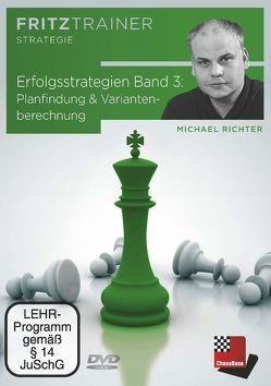 Erfolgsstrategien Band 3: Planfindung & Variantenberechnung von Richter,  Michael