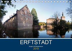 ERFTSTADT – Burgen und Bürgerhäuser (Tischkalender 2019 DIN A5 quer) von boeTtchEr,  U