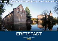 ERFTSTADT – Burgen und Bürgerhäuser (Tischkalender 2020 DIN A5 quer) von boeTtchEr,  U