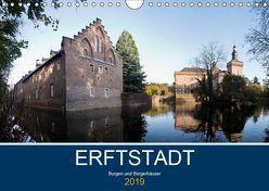 ERFTSTADT – Burgen und Bürgerhäuser (Wandkalender 2019 DIN A4 quer) von boeTtchEr,  U