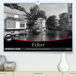 Erfurt – altehrwürdiges Flächendenkmal (Premium, hochwertiger DIN A2 Wandkalender 2021, Kunstdruck in Hochglanz) von Flori0