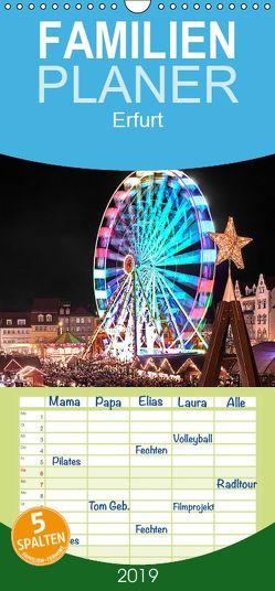 Erfurt – Familienplaner hoch (Wandkalender 2019 , 21 cm x 45 cm, hoch) von Hallweger,  Christian
