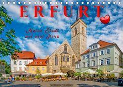 Erfurt – meine Stadt mit viel Herz (Tischkalender 2019 DIN A5 quer) von Roder,  Peter