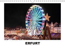Erfurt (Wandkalender 2018 DIN A4 quer) von Hallweger,  Christian