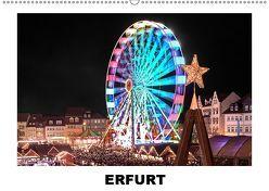 Erfurt (Wandkalender 2019 DIN A2 quer) von Hallweger,  Christian