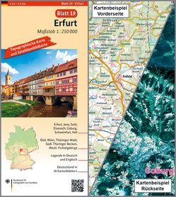 Erfurt von BKG - Bundesamt für Kartographie und Geodäsie