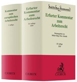 Erfurter Kommentar zum Arbeitsrecht und Kommentar zum europäischen Arbeitsrecht