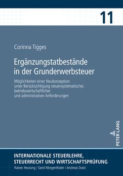 Ergänzungstatbestände in der Grunderwerbsteuer von Tigges,  Corinna