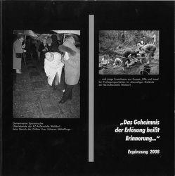 """Ergänzungsband zu """"Das Geheimnis der Erlösung heisst Erinnerung…"""" von Brehl,  Bernhard, Rühlig,  Cornelia, Vorndran,  Hans J"""