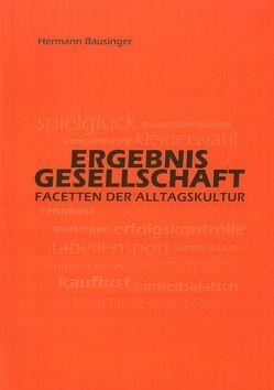 Ergebnisgesellschaft von Bausinger,  Hermann