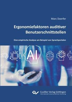 Ergonomiefaktoren auditiver Benutzerschnittstellen von Doerfer,  Marc