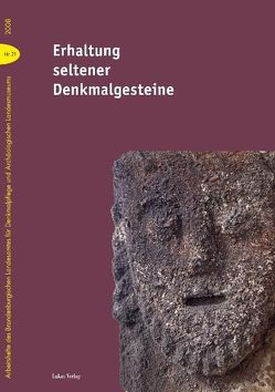 Erhaltung seltener Denkmalgesteine von Karg,  Detlef