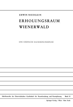 Erholungsraum Wienerwald von Niesslein,  Erwin
