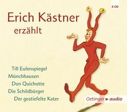 Erich Kästner erzählt (5 CD) von Kaestner,  Erich, Schatz,  Hans Jürgen, Trier,  Walter