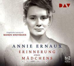 Erinnerung eines Mädchens von Ernaux,  Annie, Finck,  Sonja, Kroymann,  Maren
