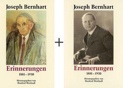 Erinnerungen von Bernhart,  Joseph, Weitlauff,  Manfred