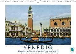 Erinnerungen an das alte Venedig: Historische Stiche von der Lagunenstadt (Wandkalender 2019 DIN A4 quer) von CALVENDO