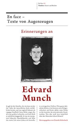 Erinnerungen an Edvard Munch von Munch,  Edvard, Stilzebach,  Daniela