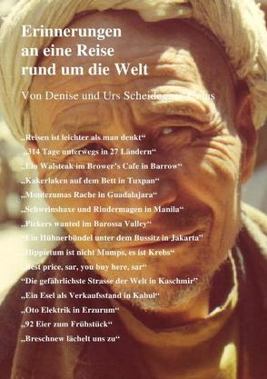 Erinnerungen an eine Reise rund um die Welt von Scheidegger,  Urs