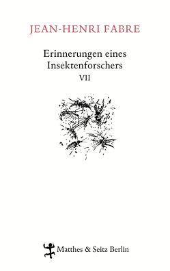 Erinnerungen eines Insektenforschers VII von Fabre,  Jean-Henri, Koch,  Friedrich, Kunzmann,  Ulrich, Lipecky,  Heide