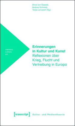 Erinnerungen in Kultur und Kunst von Lenuweit,  Tanja, Oswald,  Anne von, Schmelz,  Andrea