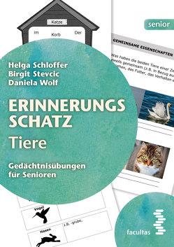 Erinnerungsschatz Tiere von Schloffer,  Helga, Stevcic,  Birgit, Wolf,  Daniela