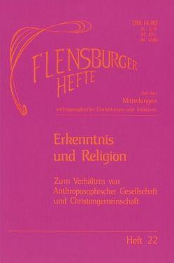 Erkenntnis und Religion von Gädeke,  Rudolf, Gädeke,  Wolfgang, Weirauch,  Wolfgang