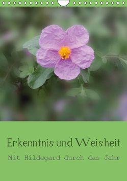 Erkenntnis und Weisheit – Hildegard von Bingen (Wandkalender 2019 DIN A4 hoch) von Bergmann,  Christine