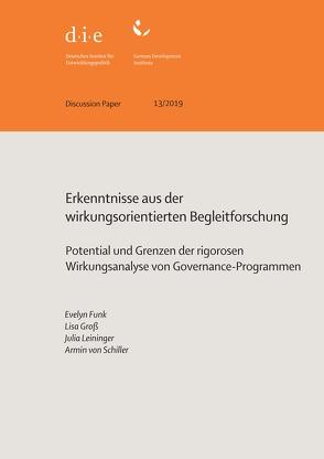 Erkenntnisse aus der wirkungsorientierten Begleitforschung von Funk,  Evelyn, Groß,  Lisa, Leininger,  Julia, von Schiller,  Armin